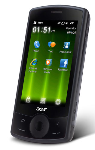 Acer beTouch E101 phone photo gallery  official photos