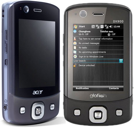 Acer DX900 phone photo gallery  official photos