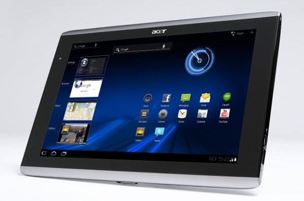 Acer Iconia Tab A100   Notebookcheck net External Reviews