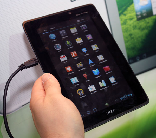 Acer Iconia Tab A110 Now Official