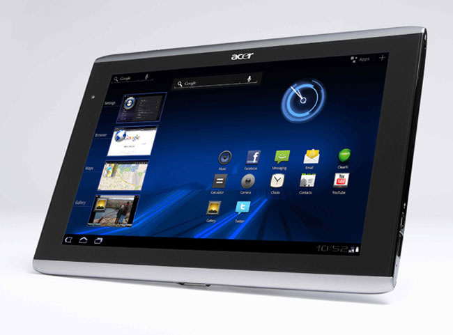 Acer Iconia Tab A501 with HSPA  arriving at ATT on September 18