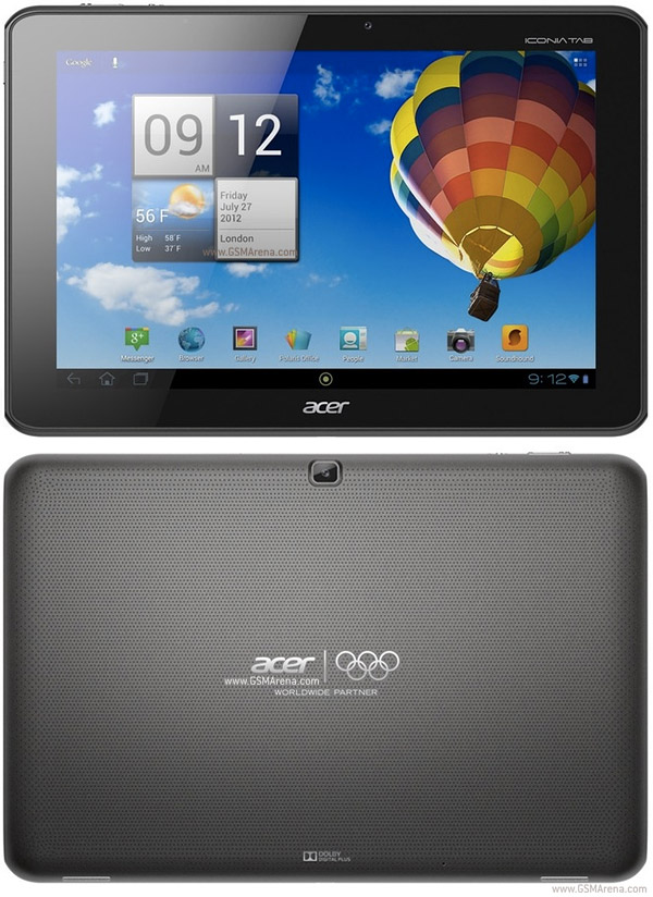 Acer Iconia Tab A511 pictures  official photos