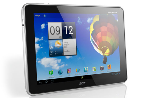 Acer Iconia Tab A510 and A511 delayed  A700 not affected