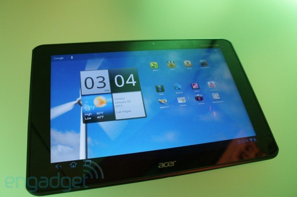 Acer Iconia Tab A700 hands on  updated  now with more video