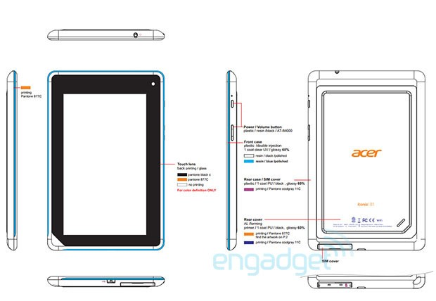 Acer eases Iconia B1 A71 Tab past FCC  GLBenchmark shows modest