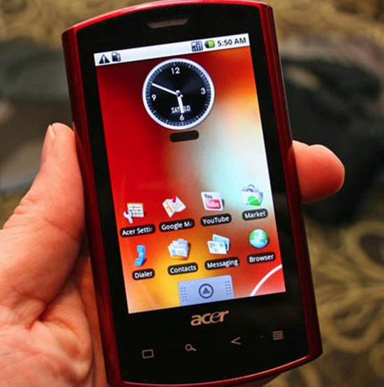 Acer launches new Android Smartphone Acer Liquid   TopNews