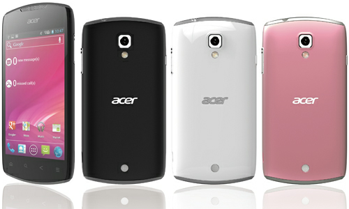 Acer Liquid Glow E330  A new 3G Android ICS phone   Mobile   Gizbot