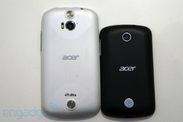 Acer Liquid E1 and Liquid Z2 smartphones hands