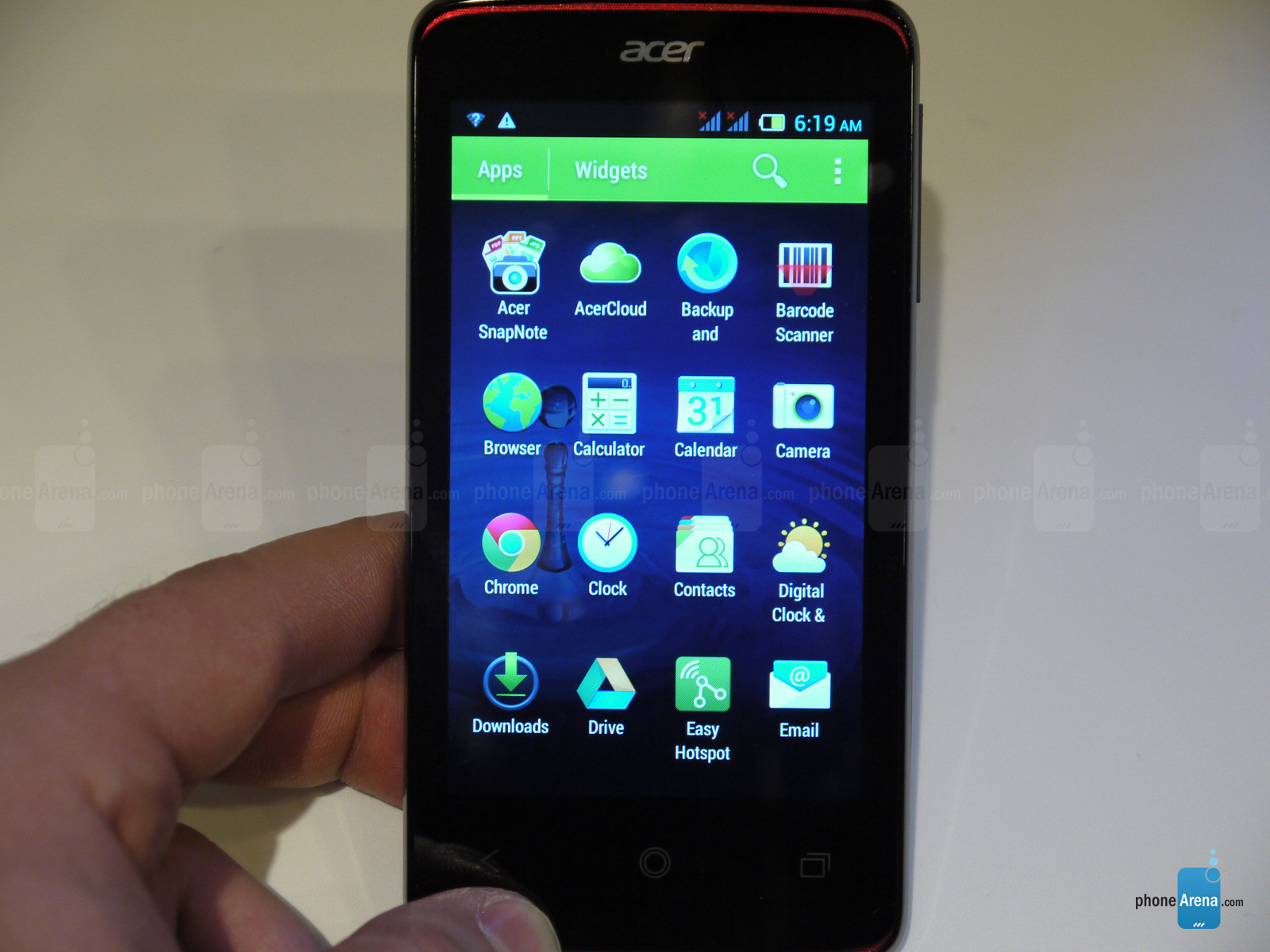 Acer Liquid Z4 hands on  full fledged Android phone with a 2 digit
