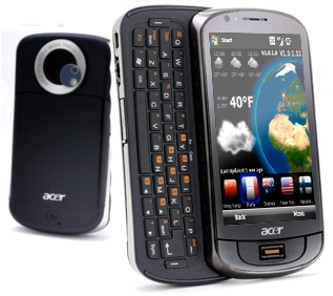 ACER M900 Price in India   Slider QWERTY Touchscreen mobile