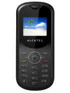 Alcatel OT 106   Full phone specifications