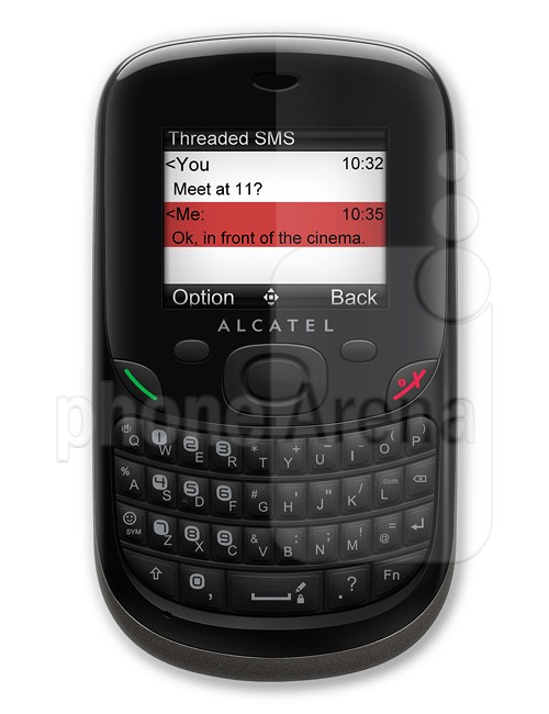 Alcatel OT 355 specs