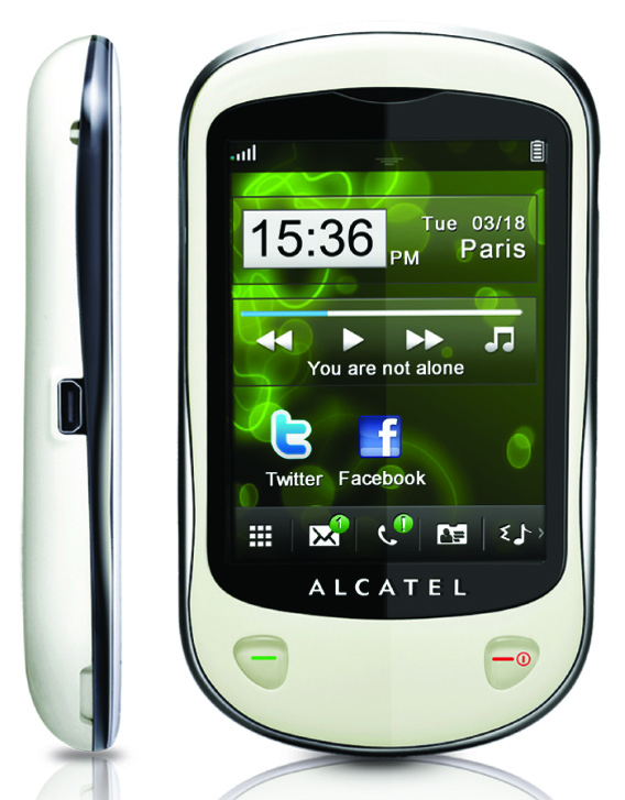 Alcatel OT 710D Device Specifications   Handset Detection