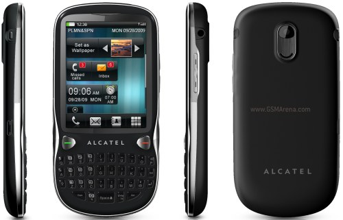 Alcatel OT 806 pictures  official photos