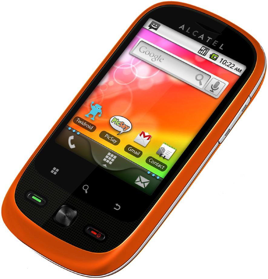 Alcatel OT 890D Alcatel OT 890D OS Android OS  v2