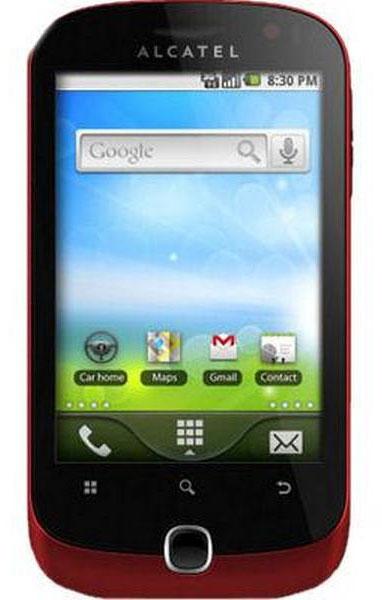 Alcatel OT 891 Soul Alcatel OT 891 Soul OS Android OS  v2