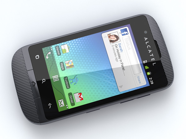 alcatel ot 918 mobile max