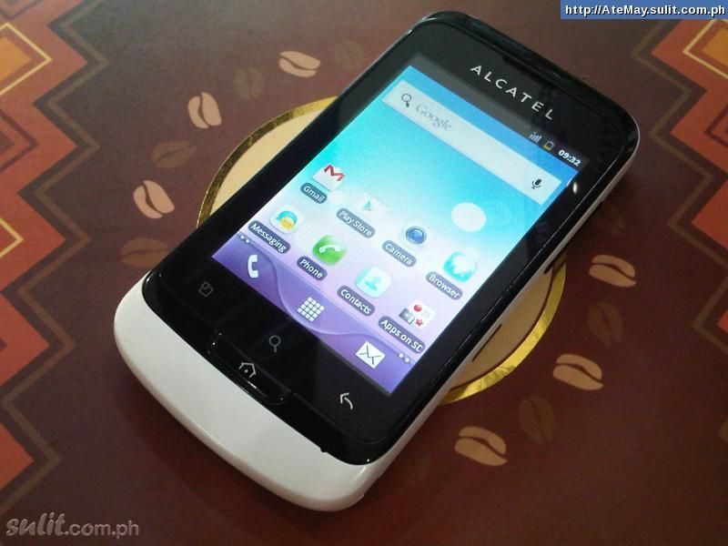 Alcatel OT 918N Glory White  negotiable   Secondhand For Sale