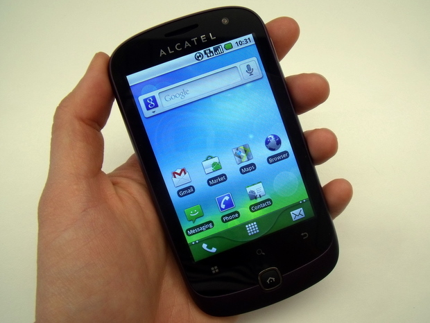 Alcatel OT 990 budget Android phone coming to O2 in August   CNET UK