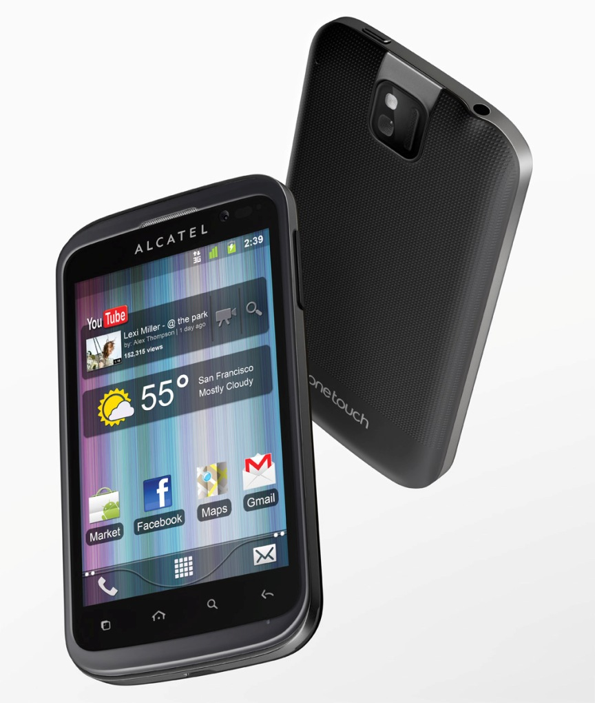 Alcatel OT 991   Specs and Price   Phonegg