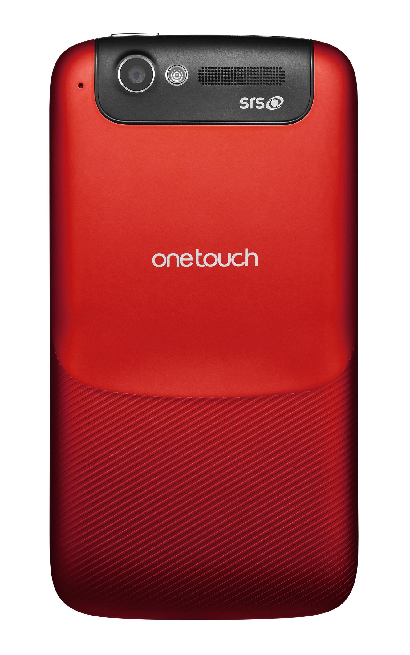 Otras marcas   Oferta movil libre Alcatel OT 997D DUAL rojo oscuro