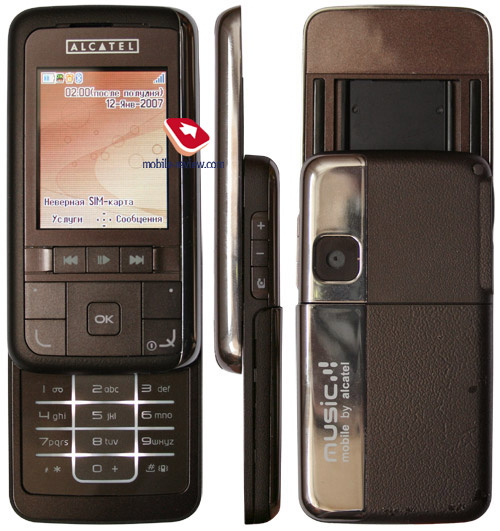 Review Mobile Center  Review of GSM handset Alcatel One Touch C