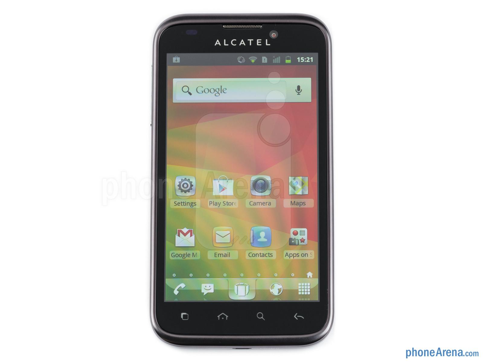 Alcatel OT 995 Review