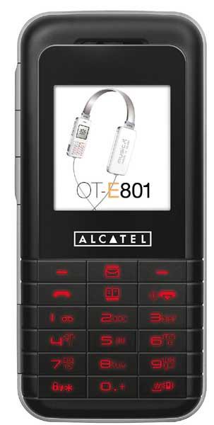 Alcatel OT E801  scheda tecnica e dettagli Alcatel OT E801