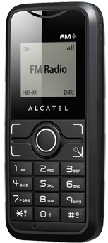 Alcatel OT S121 phone photo gallery  official photos