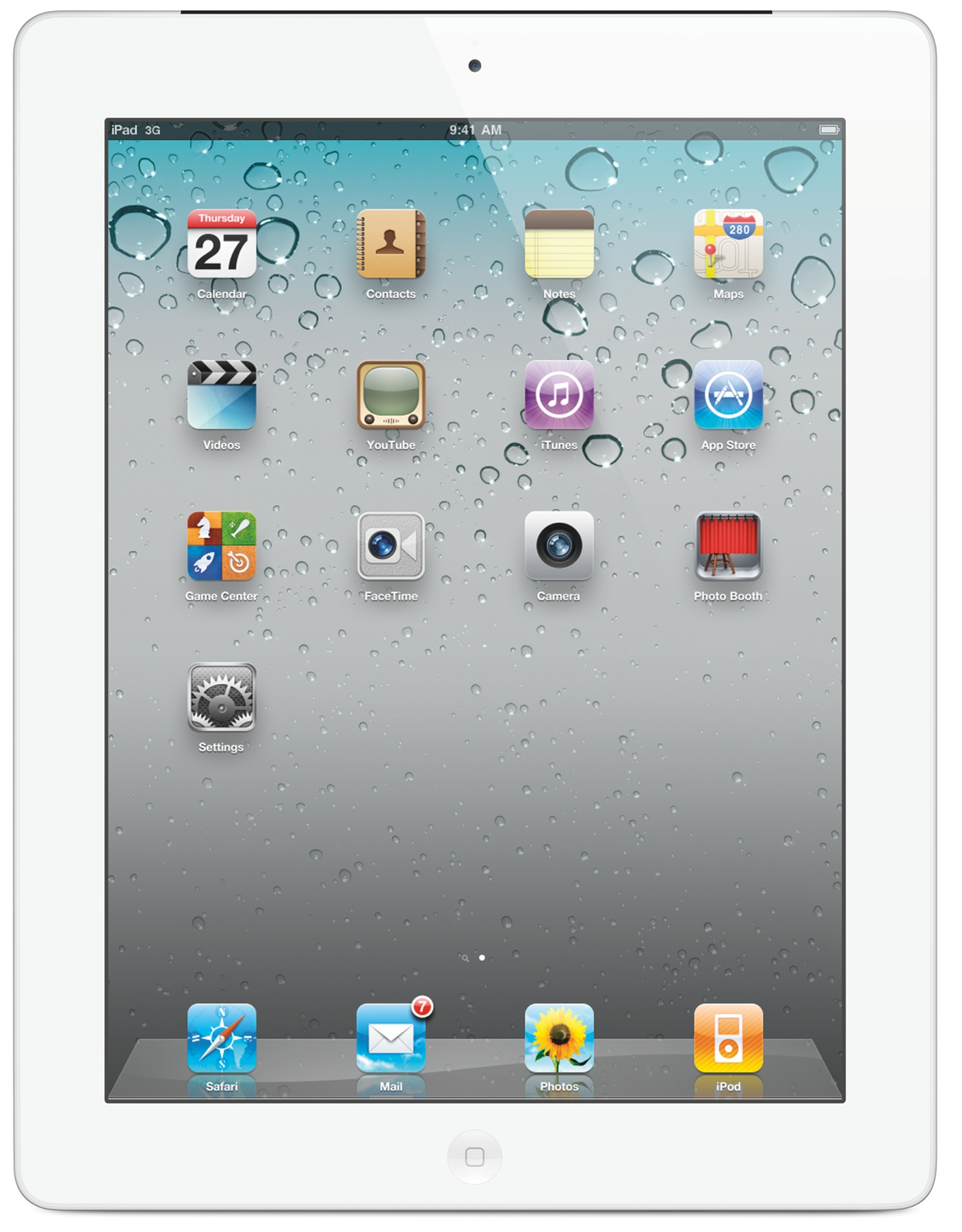 Apple iPad 2 with Wi Fi  16 GB Storage 512 MB RAM