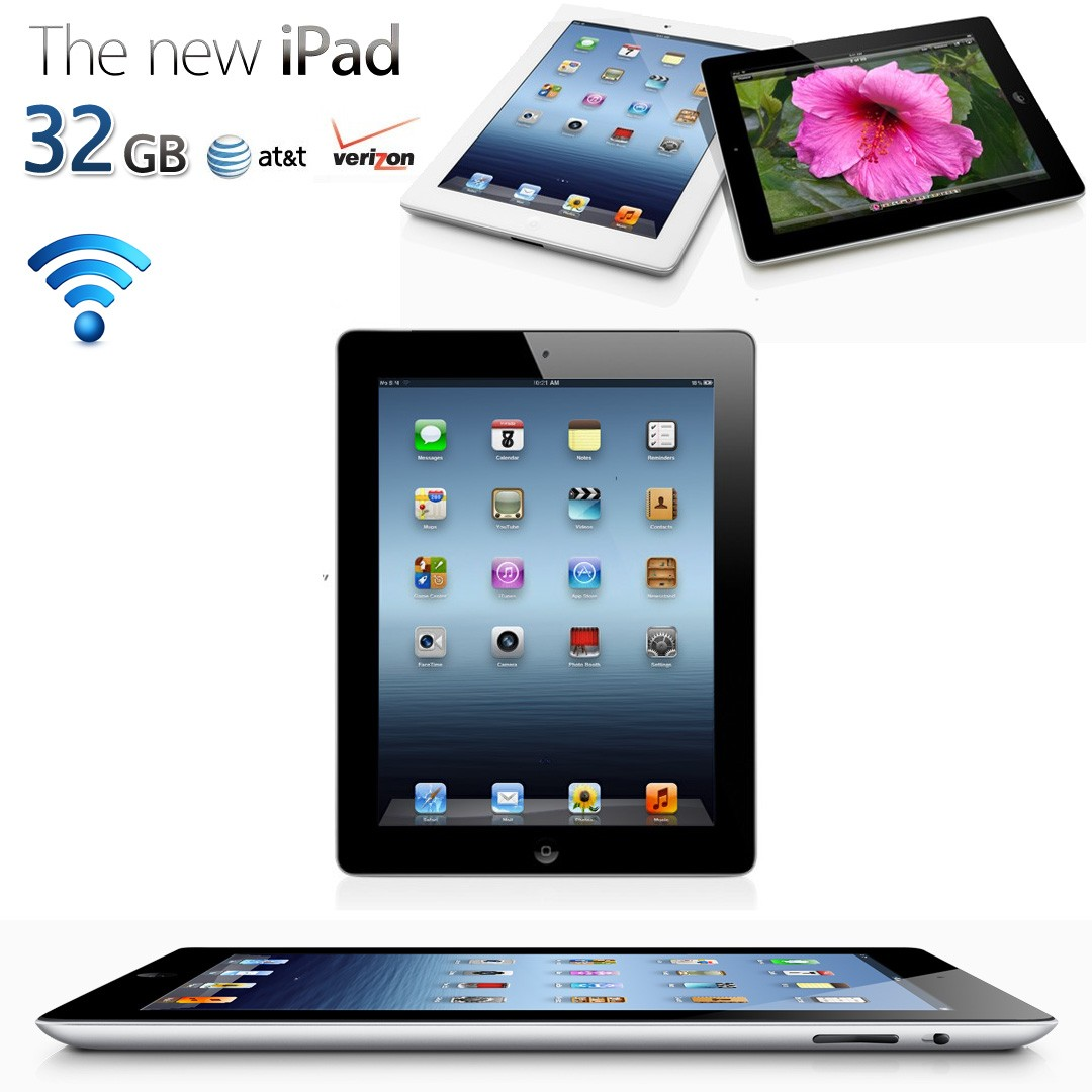 Apple iPad 3 32GB Wifi Financing for Military Regardless of Bad