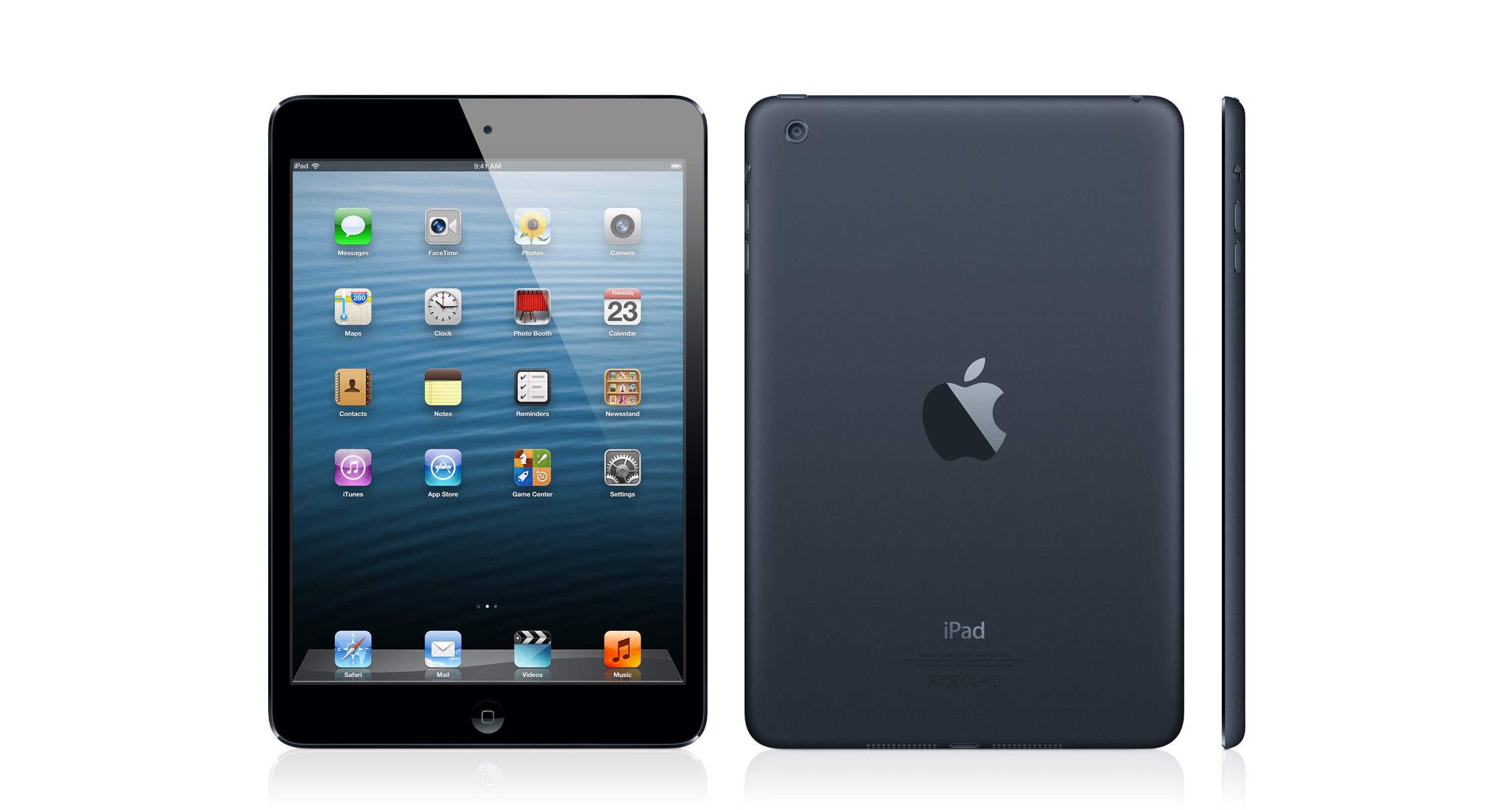 Apple iPad Mini Wi Fi A1432 64GB  Apple iPad 2 5  Specs