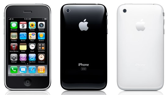Apple iPhone 3GS pictures  official photos