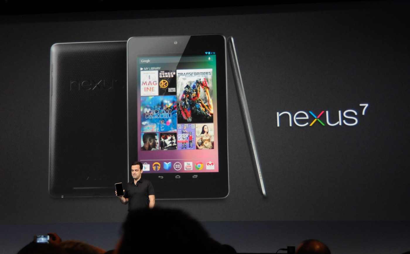 AnandTech   Google Makes ASUS Supplied Nexus 7 Tablet Official