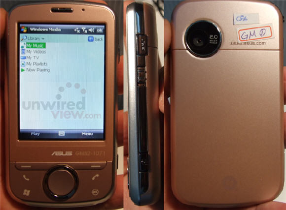 Asus P320 Galaxi Mini GPS PDA phone launched   Unwired View