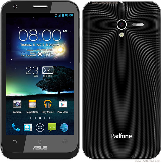 Asus PadFone 2 pictures  official photos