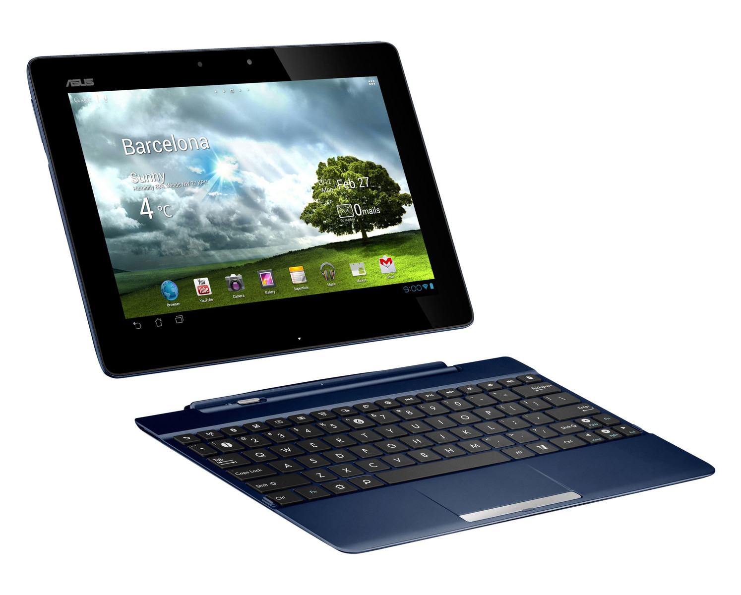 Review Asus Transformer Pad TF300T Tablet MID   NotebookCheck net
