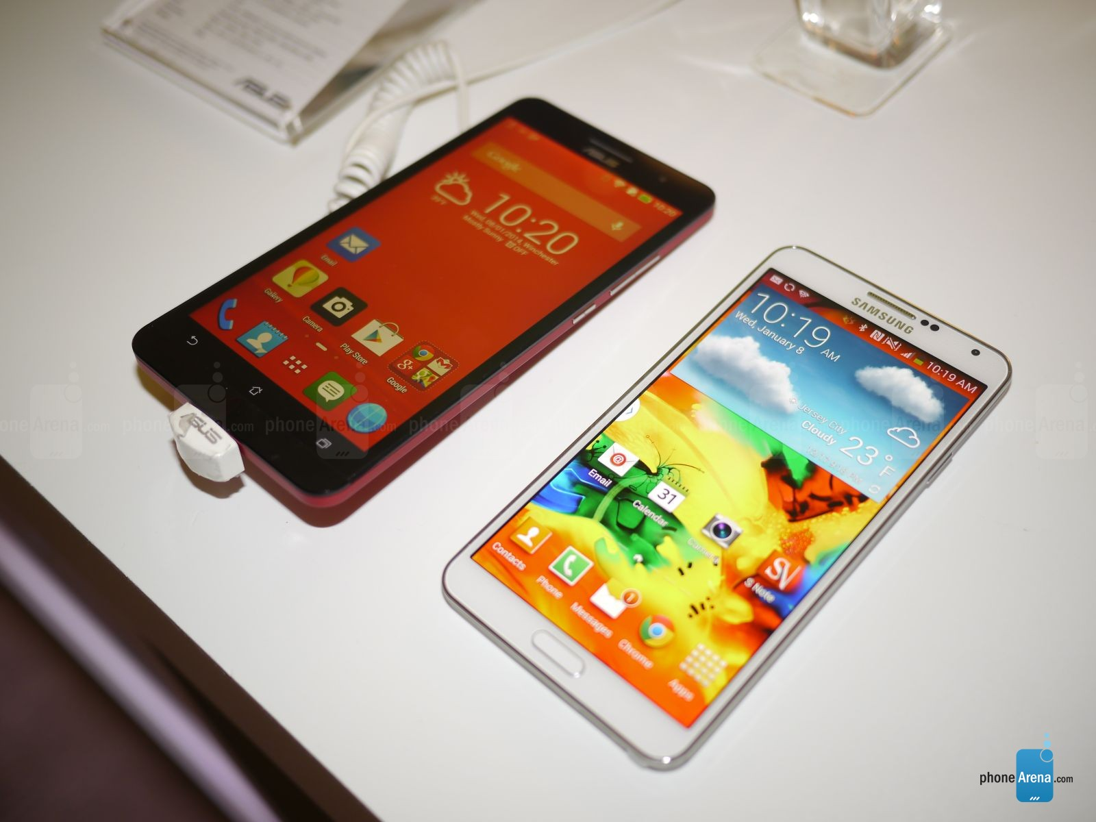 Asus ZenFone 6 vs Samsung Galaxy Note 3  first look   PhoneArena