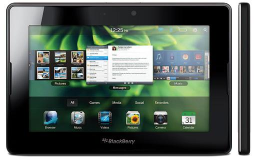 Online manual  BlackBerry 4G PlayBook HSPA  Manual Guide