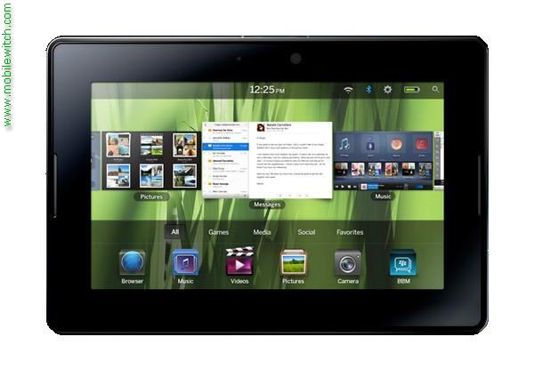 BlackBerry 4G PlayBook HSPA  pictures  official photos   MobileWitch