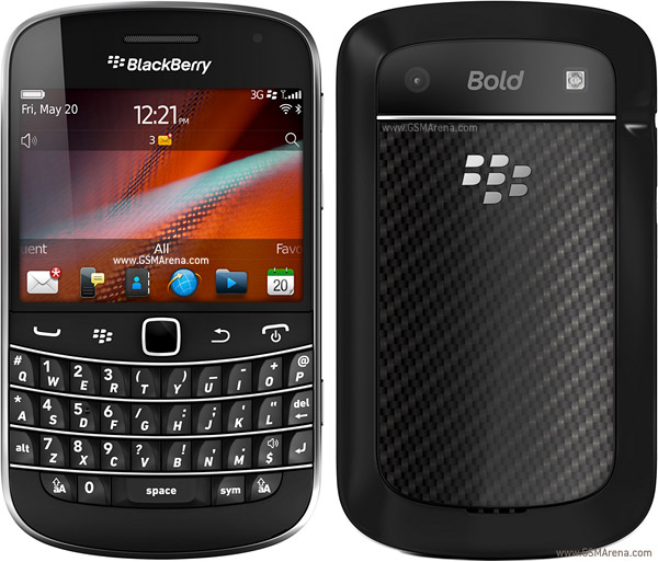 BlackBerry Bold Touch 9930 pictures  official photos