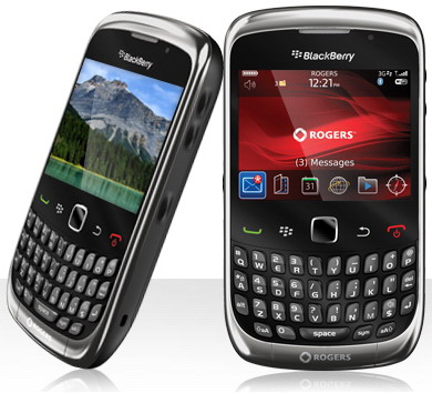 BlackBerry Curve 3G 9300 gets official   SlashGear