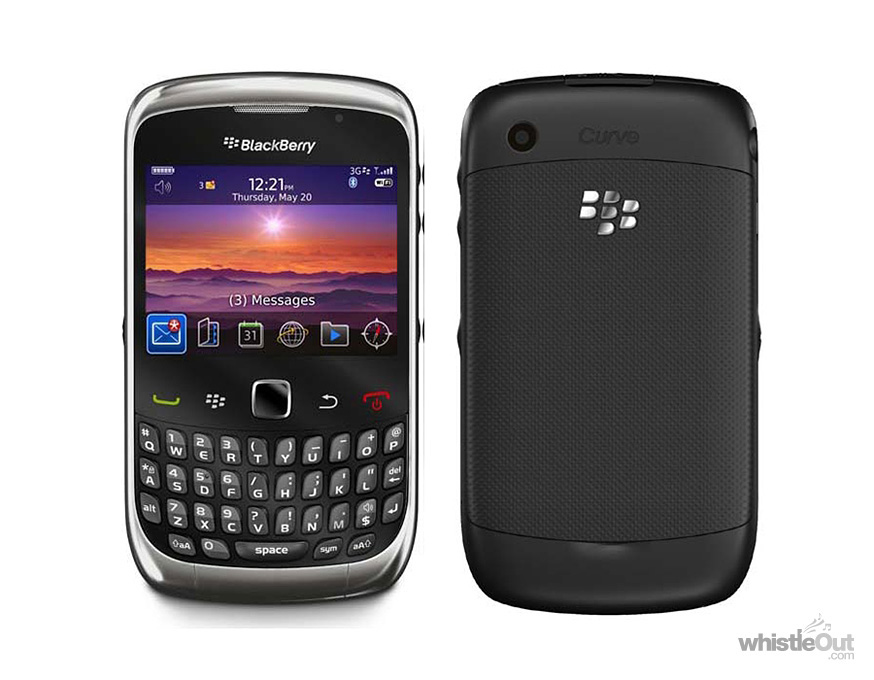 BlackBerry Curve 3G 9330   Compare Plans  Deals Prices   WhistleOut