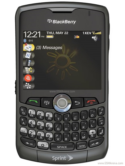 BlackBerry Curve 8330   Full phone specifications
