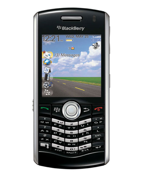 BlackBerry Pearl 8120 phone photo gallery  official photos