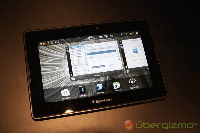 BlackBerry PlayBook OS 2 0 arriving in February 2012   Ubergizmo