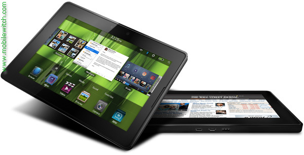 BlackBerry PlayBook WiMax pictures  official photos   MobileWitch