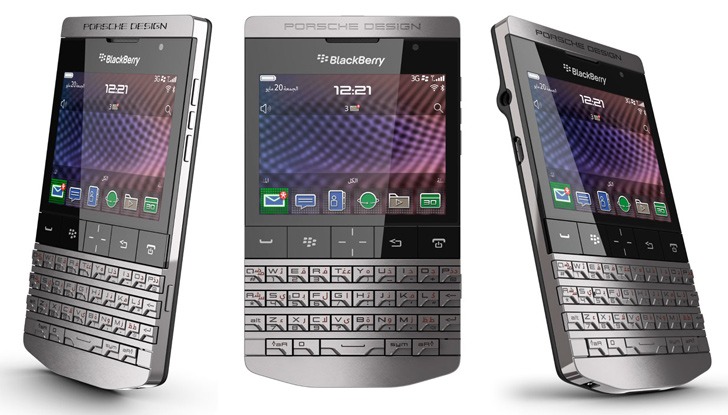 Porsche Design BlackBerry P9981 Goes Official  Priced at  2000