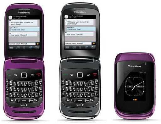Sprint BlackBerry Style 9670 QWERTY clamshell drops Oct 31   SlashGear