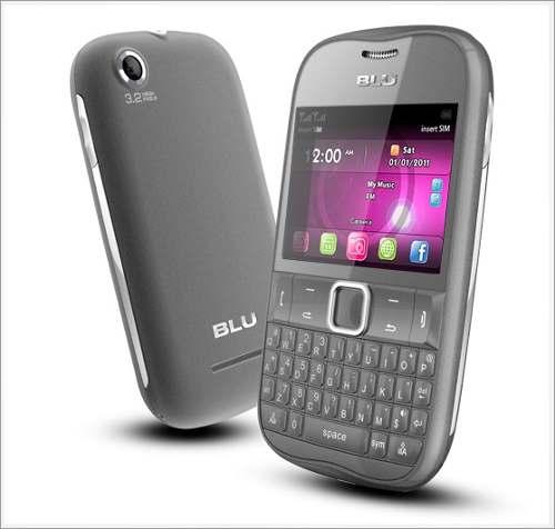 Celular Blu Deco Xt Doble Sim Camara Tv Radio Bluetooth Wifi